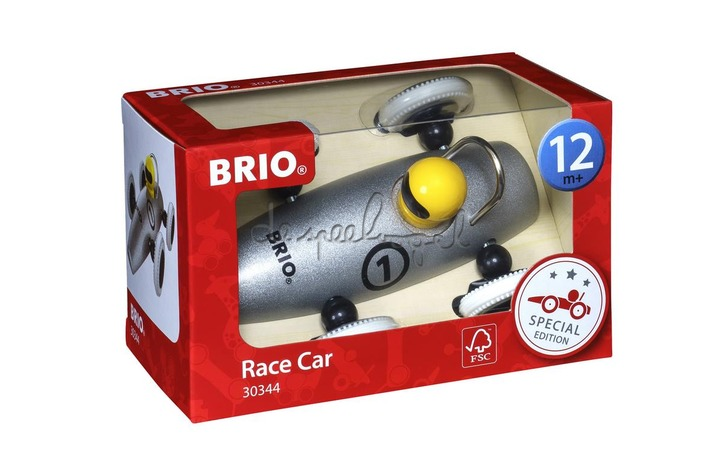 30344 Metalic Silver Race Car, spec ed.