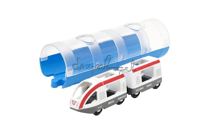 33890 Tunnel & Travel Train - Blauw