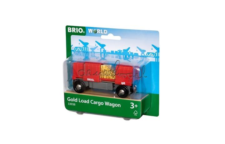 33938 Gold Load Cargo Wagon