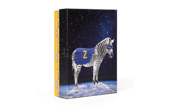 Geschenkbox Superheroes L Zuper Zebra 31x22x9cm