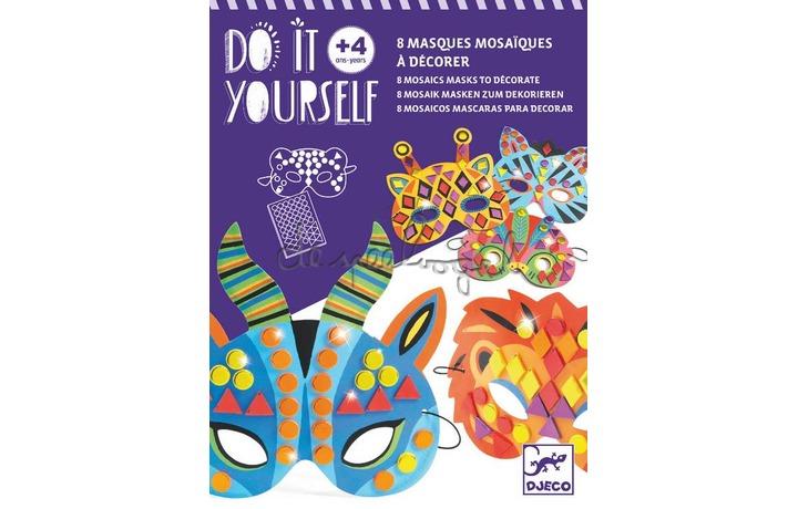 DJ07900 Do it yourself - Animaux de la jungle maskers