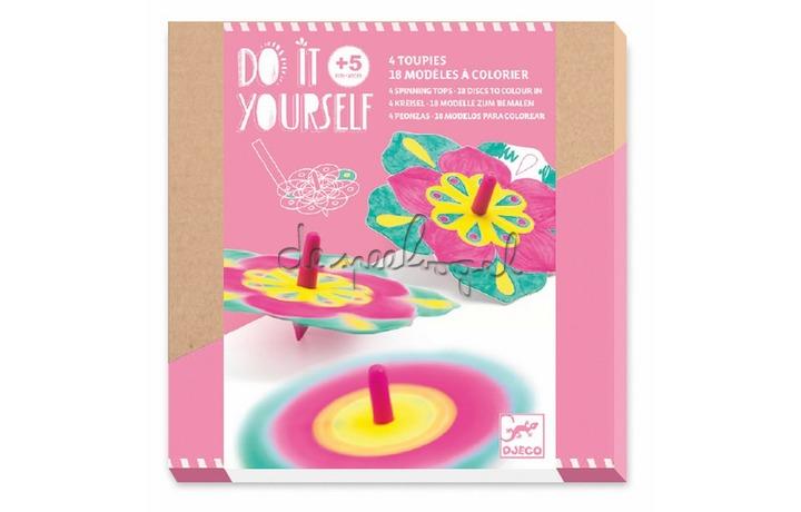 DJ07940 Do it yourself - Fleurs tolletjes