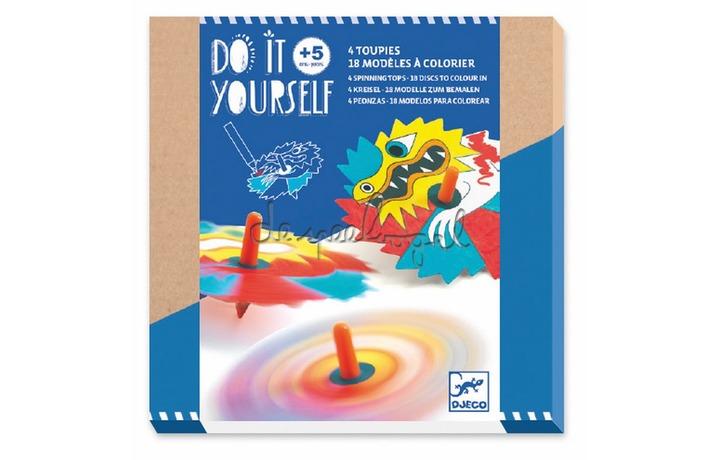 DJ07941 Do it yourself - Dragons tolletjes