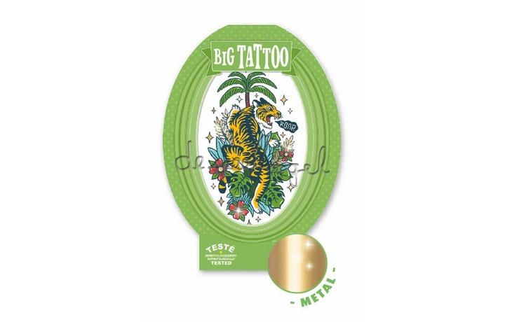 DJ09605 Tattoo - Tiger