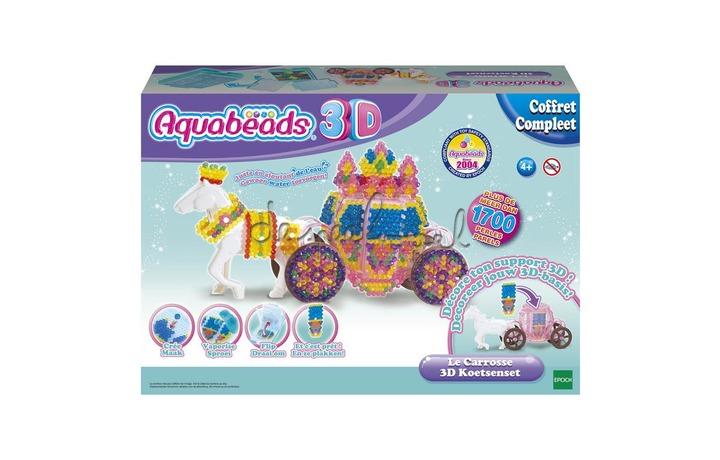 31391 Aquabeads 3D Koetsenset