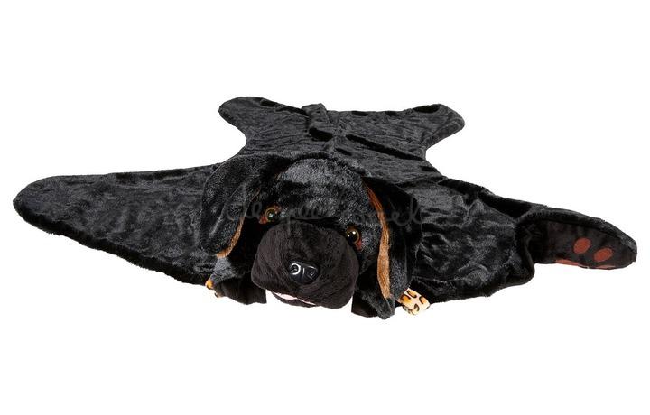 100770 Labrador deken, zwart, 1 maat (1 stuk)