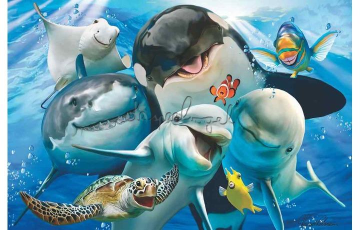 5110542 Puzzel 3D, selfie ocean, 48st., 3+