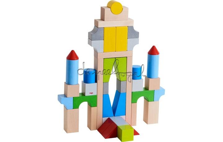 305162 Bouwstenen - Grote basisdoos, gekleurd (43 blokken)