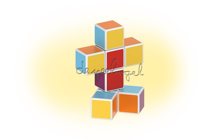 127 Geomag Magicube Free Building 8