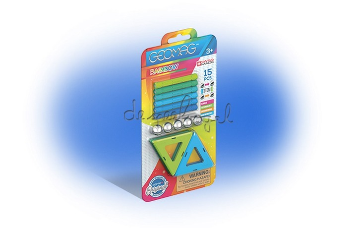 368 Geomag Rainbow Counter blister 15 pcs