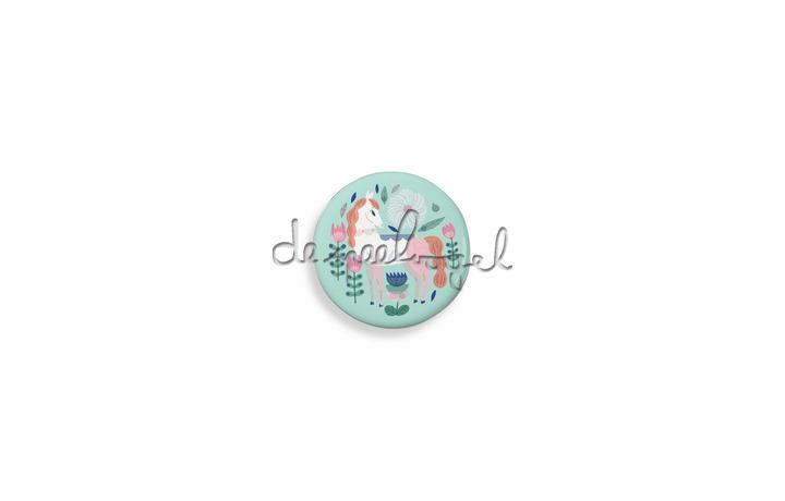 DD03851 Lovely Paper - Chevaux badge