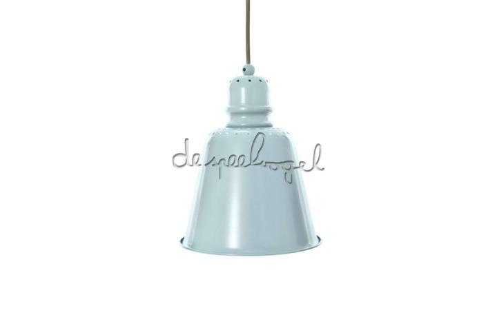 9723 Metalen hanglamp, pastel boy, dia 20 cm