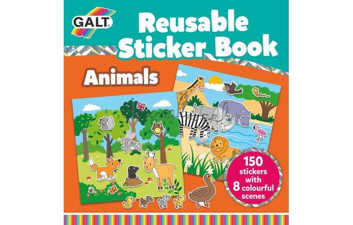 1005098 Boek met herbruikbare stickers-Dieren