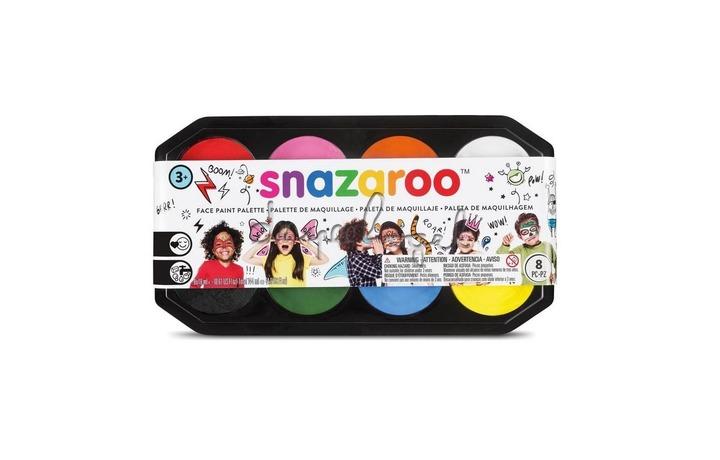 1172015 Snazaroo Schminkpalet - 8 kleuren - navulbaar met 18ml