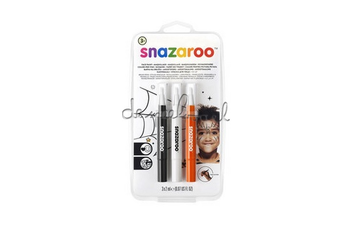1180142 Snazaroo Brush pen Halloween