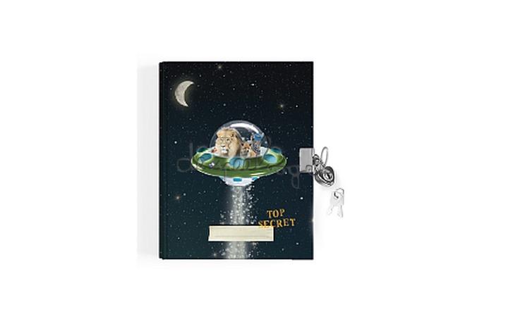 Dagboekje Space UFO
