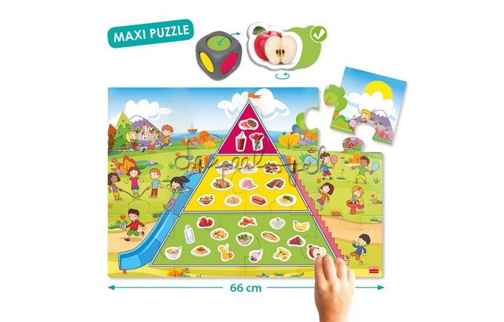 20554 Voedingsdriehoek, De piramide voor goede voeding