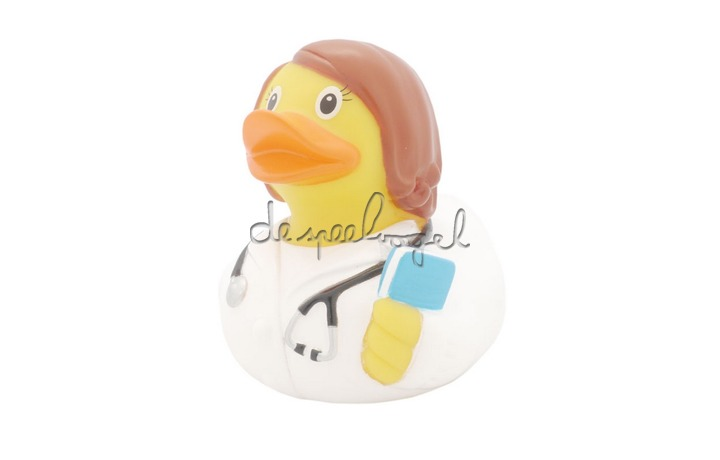 1838 Female Doctor Duck - design by LILALU
