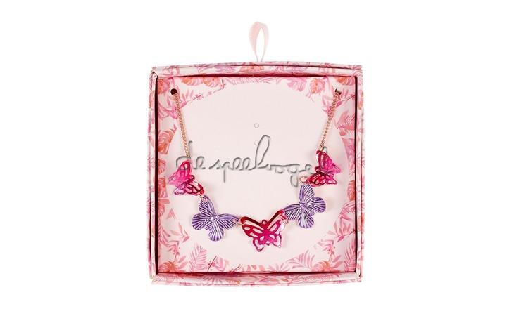 105506 Cadeaudoosje Ketting vlinder