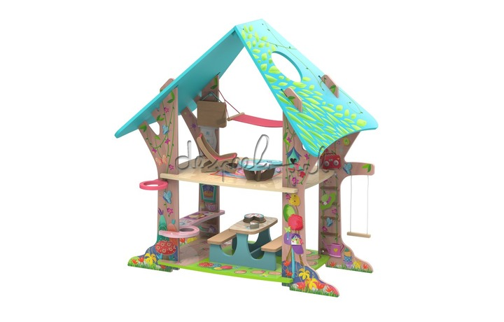 126896 Kruselings Magical Forest Clubhouse