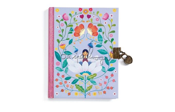 DD03616 Lovely Paper - Marie - Dagboek met slot