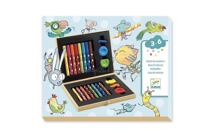 DJ09010 Kleurdoos voor de kleintjes