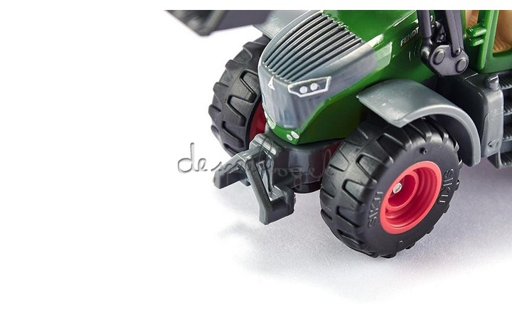 1393 Tractor Fendt 1050 Vario met frontlader
