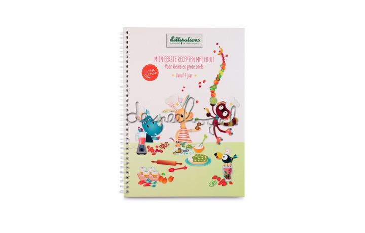 81135 Receptenboek - Mijn eerste recepten met fruit