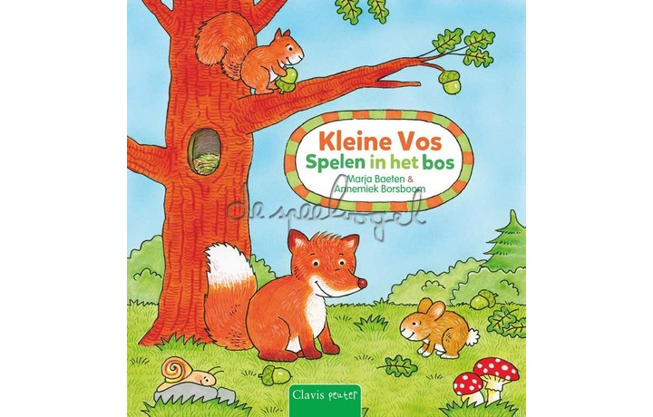 Kleine Vos. Spelen in het bos / Marja Baeten