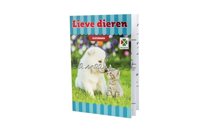 54606 Lieve dierenvrienden Kleurboek