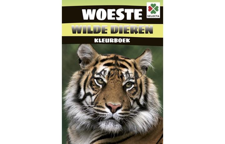 56104 Woeste Wilde Dieren Kleurboek
