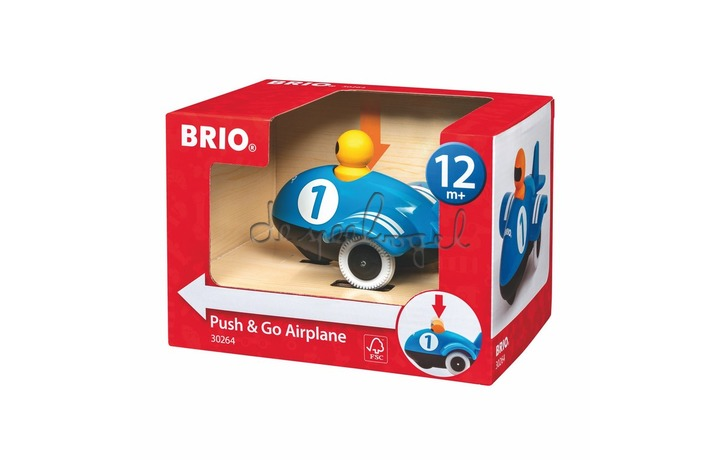 30264 Push & Go Airplane