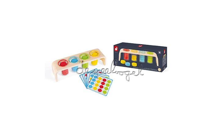 J05066 Leerspel - Sorteerspel kleuren