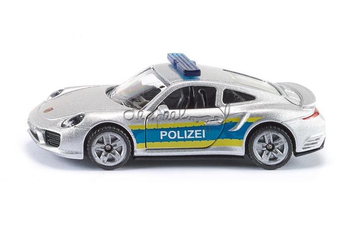 1528 Porsche 911 Polizei autobaan