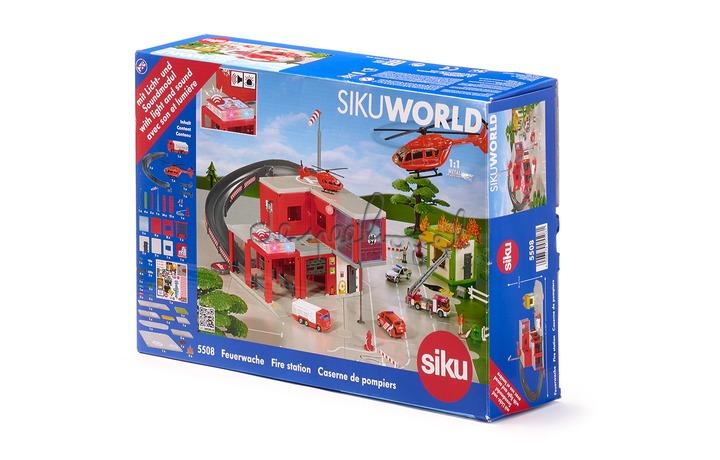 5508 Brandweerkazerne SIKUworld met licht en geluid