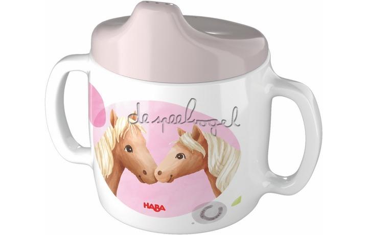 305696 Baby drinkbeker Paarden