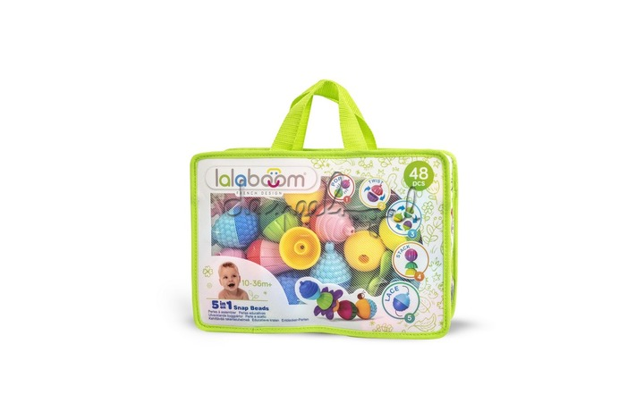 BL460 Educational Beads And Accessories - 48St in zak