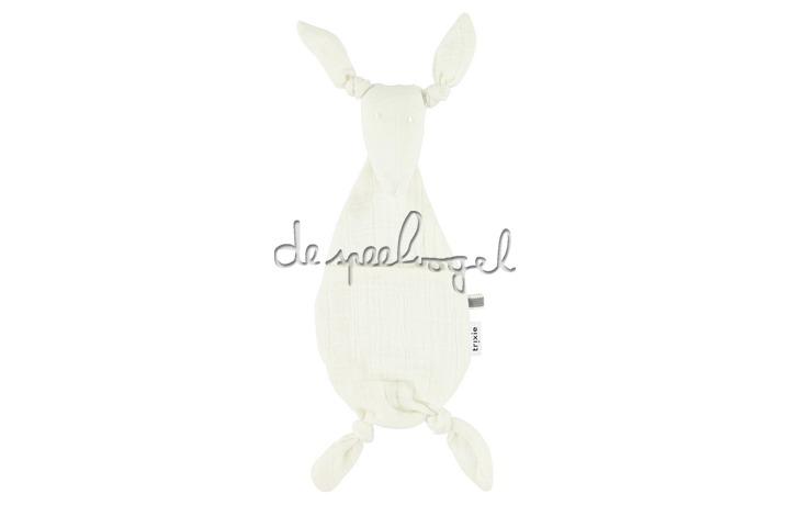 51057 Kangoeroe knuffeldoekje  - Bliss White