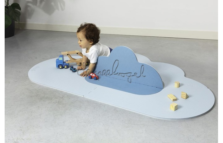 172246 Quut Playmat - Head in the clouds S Dusty Blue