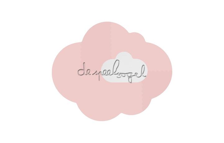 172284 Quut Playmat - Head in the clouds L Blush Rose