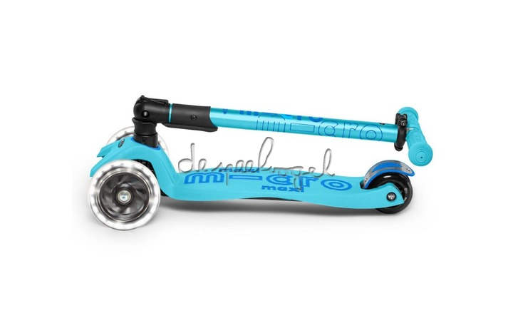 Micro Maxi Deluxe  Bright Blue Foldable LED MMD092