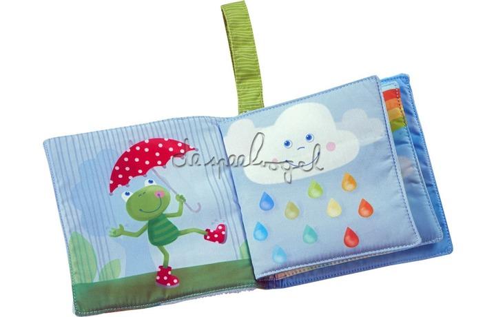 306028 Stoffen boek Regenboogwereld