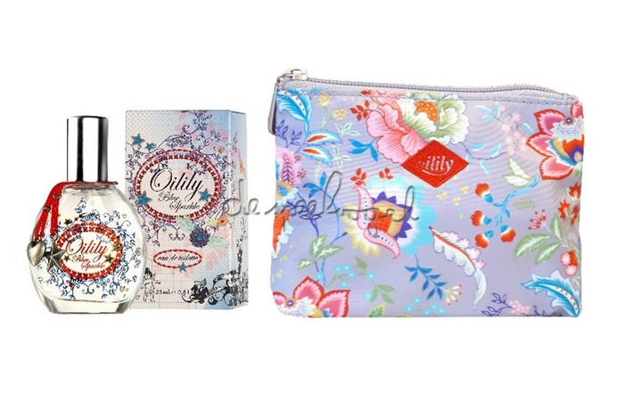 502001 BLUE SPARKLE Set (EDT 25 ml + Small Cosmetic Bag)