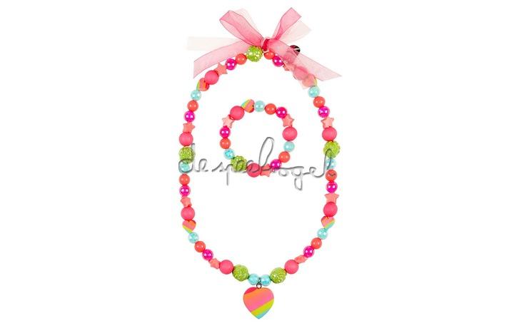 105846 Ketting + armband Sarina
