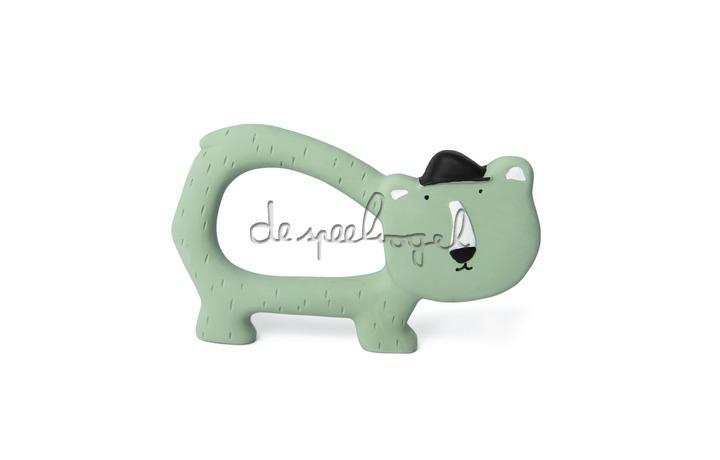 37651 Natural rubber grijpspeeltje - Mr. Polar Bear