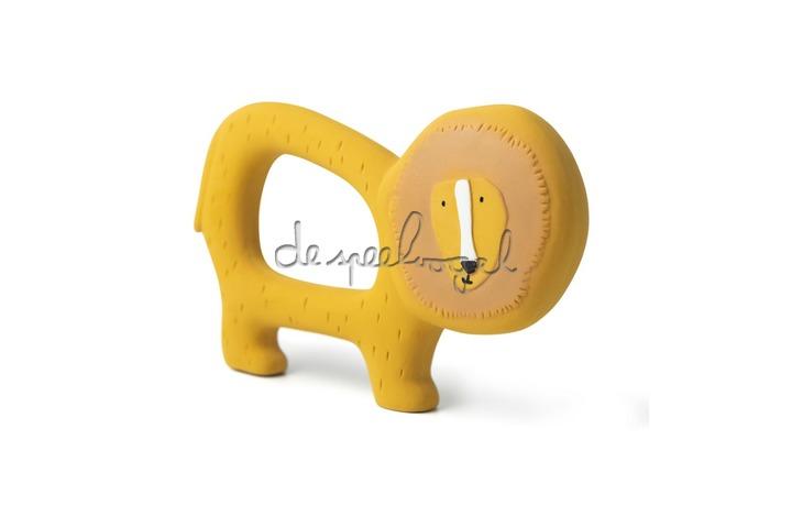 37652 Natural rubber grijpspeeltje - Mr. Lion