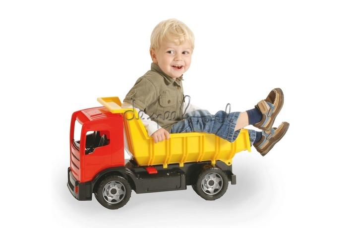 2060 GIGA TRUCKS Dump Truck 61cm Blauw/Rood Assorti