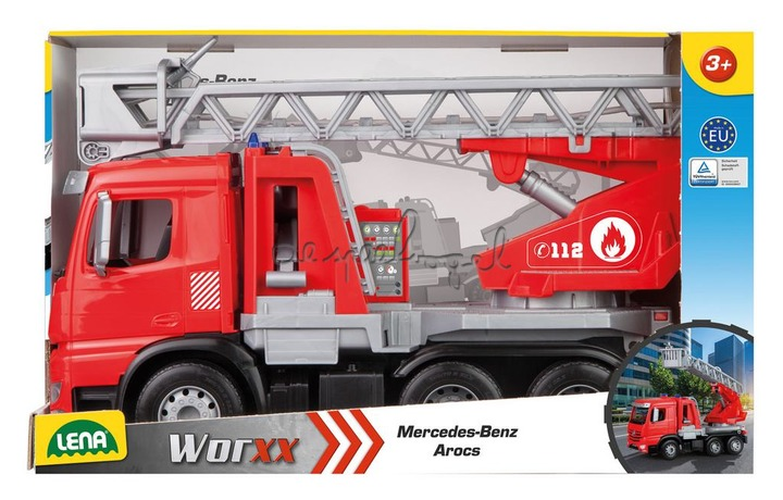 4615 WORXX Mercedes-Benz Arocs Brandweerladderwagen 48cm
