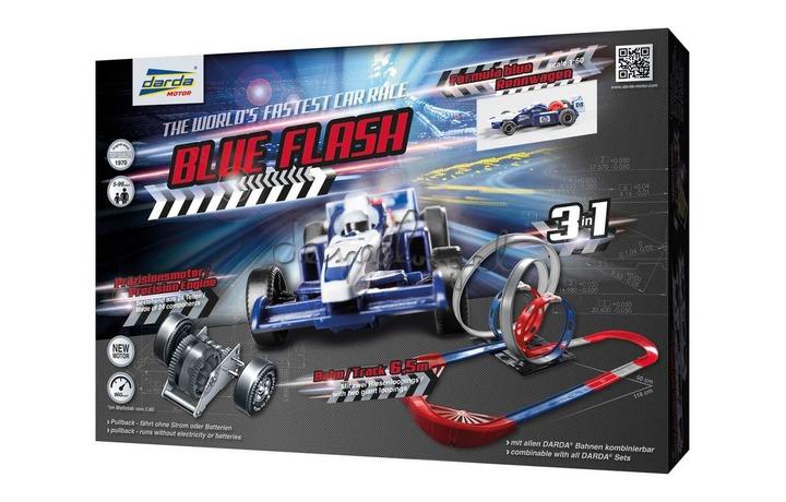 Darda 50246 Racebaan Blue Flash