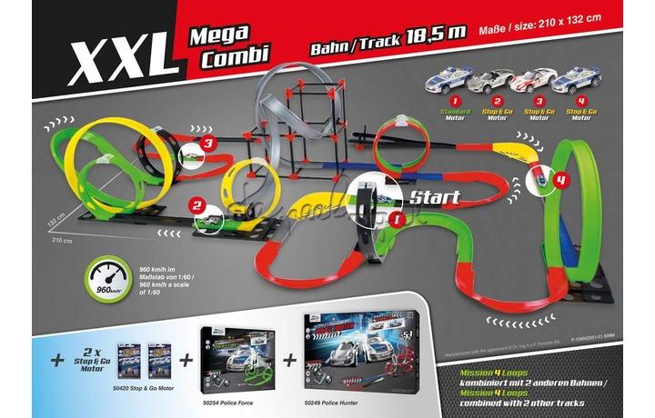 Darda 50255 Racebaan Mission 4 Loops
